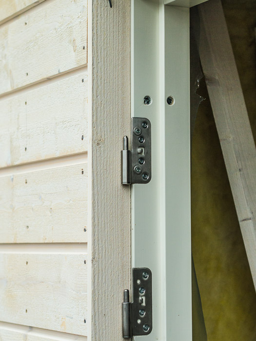 bygga garagedörr själv