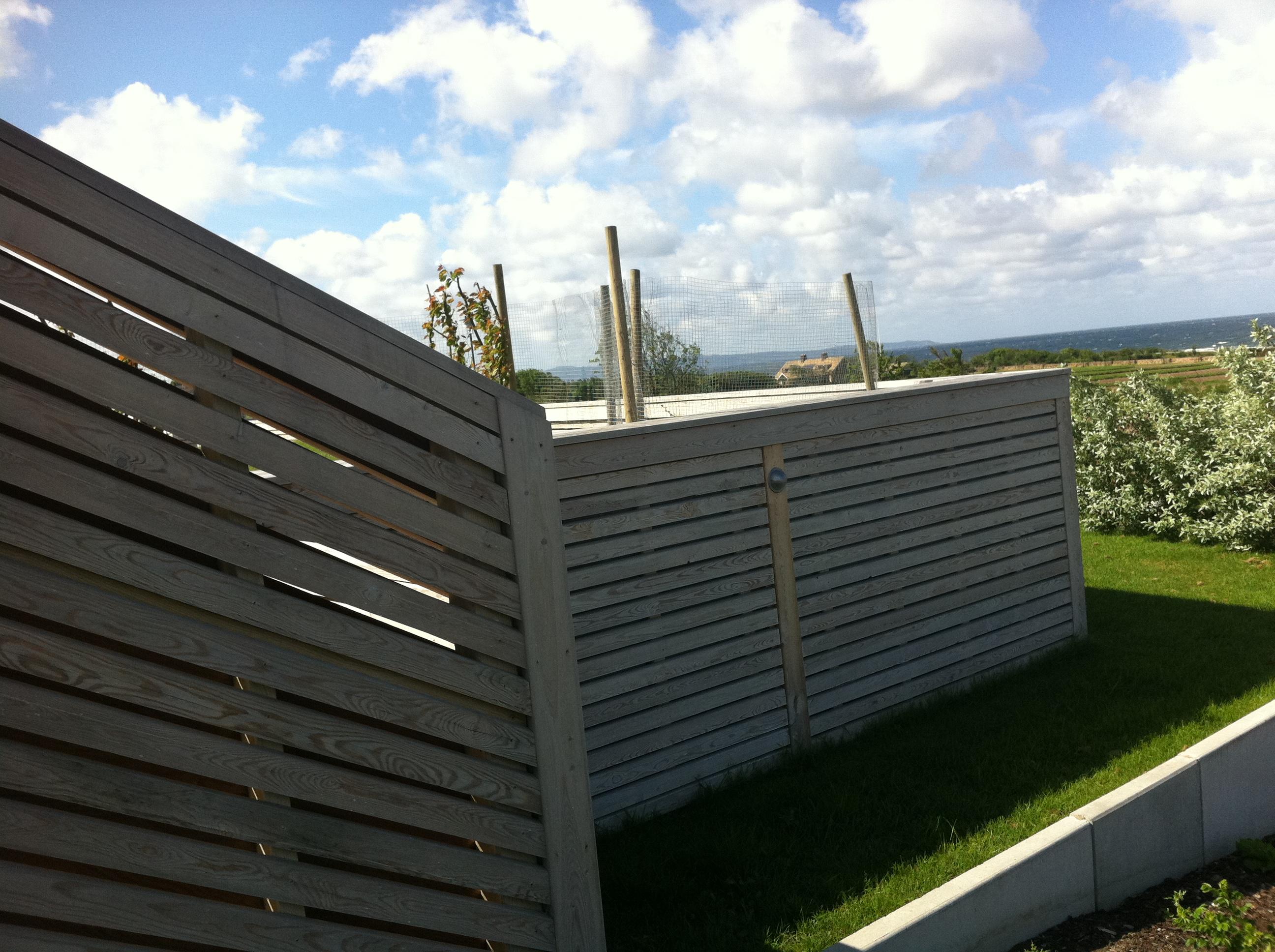 Soffor mobler: staket utan bygglov