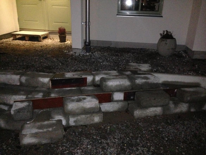 Gjuta trappsteg i betong Â«